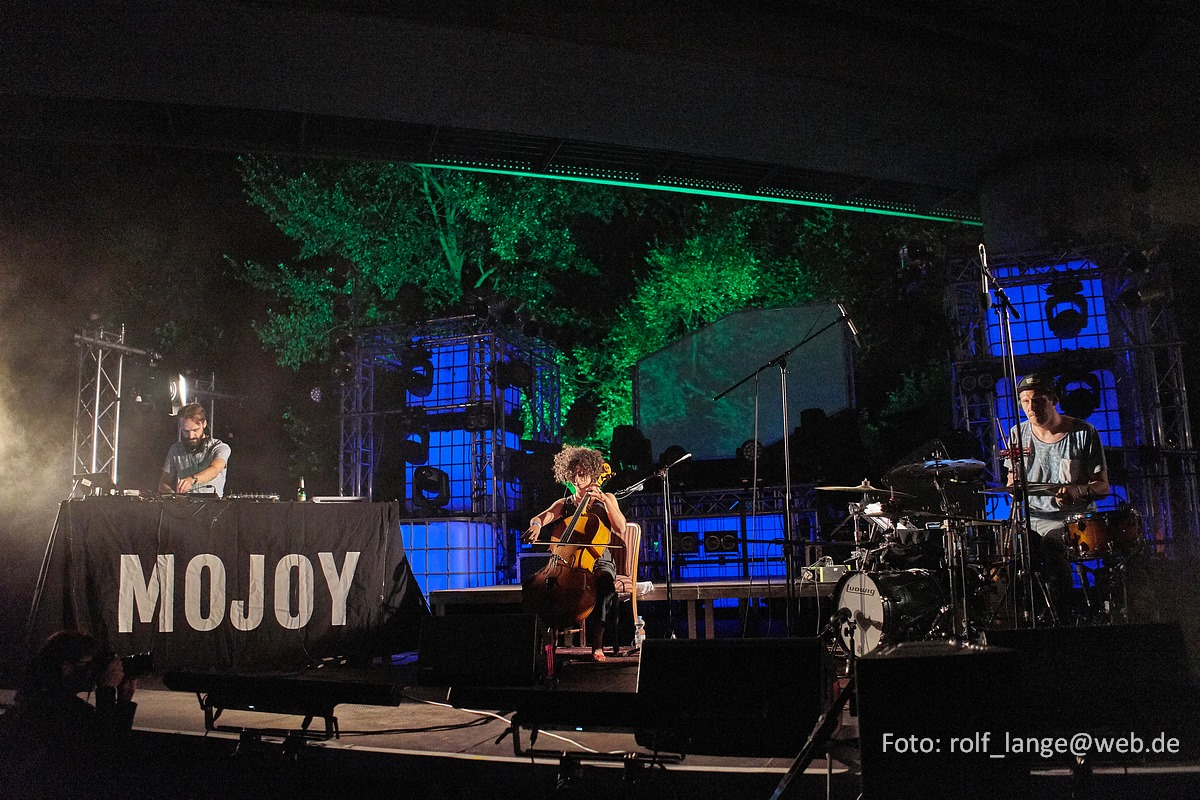 Mojoy at Brückenfestival